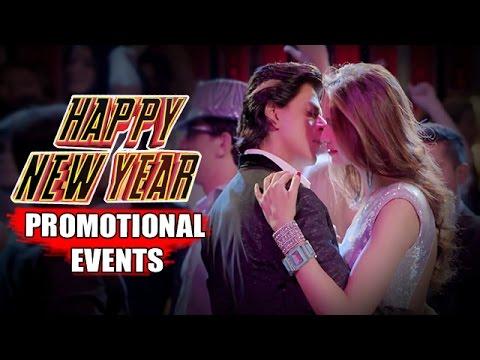 Happy New Year Movie (2014)   Shah Rukh Khan, Deepika Padukone   Uncut Promotional Events