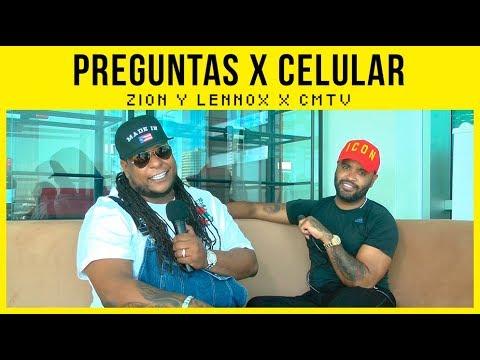 Zion Y Lennox video Preguntas X Celular - CMTV - Marzo 2018