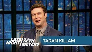 Taran Killam's Worst SNL Injuries - Late Night with Seth Meyers