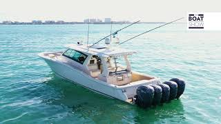 [ENG] SCOUT 530 LXF   Full Motor Boat Review   The Boat Show