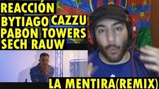 Brytiago   ⚠ La Mentira Remix X Rafa Pabón X Sech X Rauw Alejandro X Cazzu X Myke Towers (REACCIÓN)