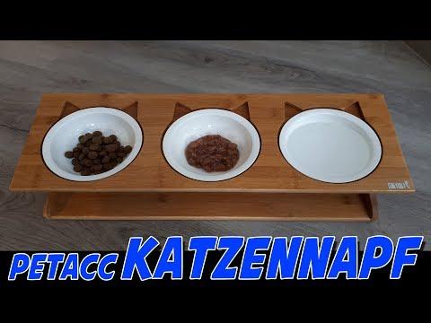 PETACC KATZENNAPF MIT 3 KERAMIKSCHALEN | VORSTELLUNG MIT DEM FEINEN HERRN KARTÄUSER