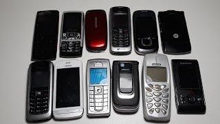 Нашел схрон немецких крутых ретро телефонов Nokia. На это можно смотреть вечно. Телефономан