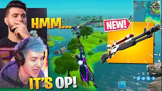 Is The Charge Shotgun BROKEN? ft. Ninja - Fortnite Battle Royale Season 3