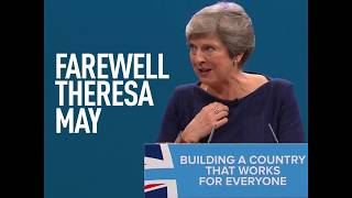 May may resign... But her term's awkward moments will live on