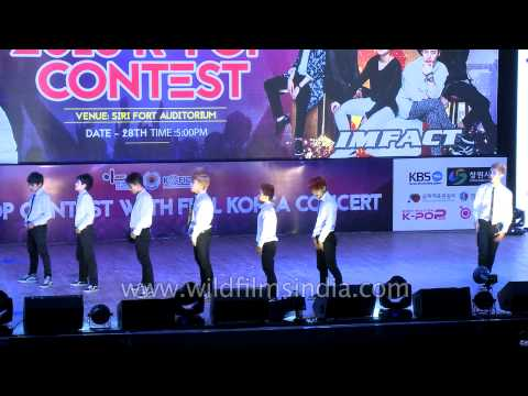 Frozen Crew from Mizoram - Gold Winner in K Pop dance category