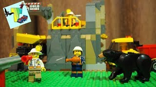 ЛЕГО ШАХТА I ШАХТЕРЫ ДОБЫВАЮТ КРИСТАЛЛЫ I LEGO CITY