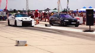 NISSAN GT-R R35 1700HP  vs BMW F10 3.0D 245HP