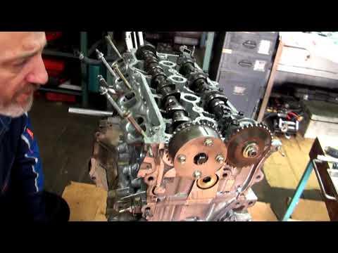 Фото к видео: Установка меток ГРМ 1AZ FSE + небольшой обзорчик мотора.