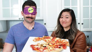 Can This Professional Chef Make A Pizza While Blindfolded? thumbnail