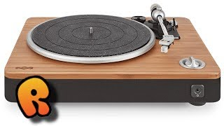 The Stir it Up Turntable - Unboxing & Review!  House of Marley!  Record-ology Deluxe!