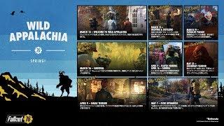 【PS4】ワイルドアパラチア『Fallout 76 フォールアウト76 』~「ヌカ・シャイン」の秘密を解き明かせ!~