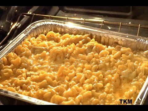 Southern Baked Macaroni And Cheese With Chicken