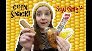 JAPANESE CORN SNACK SQUISHY? CHICKEN LEG SQUISHY??