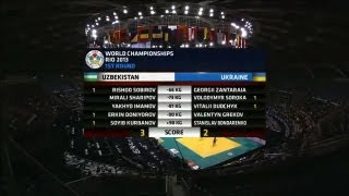 JF World Championship Teams 2013  UZBEKISTAN (UZB) - UKRAINE (UKR) 3:2