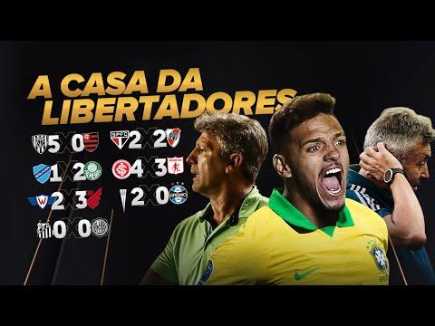 Del Valle 5 x 0 Flamengo, Domenèc em risco, dupla Gre-Nal, Palmeiras invicto! A semana da Liberta