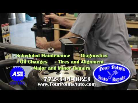 Four Points Auto Repair video