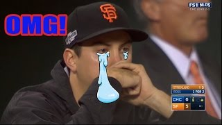 CUBS Vs GIANTS SHOCKING 9th INNING  (game4) NLDS 2016