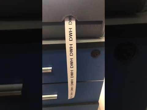CTMS-Roll type number printing heat shrinkable tubing