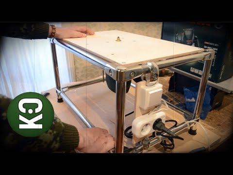 Оригинальный фрезерный стол своими руками