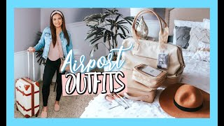 AIRPORT OUTFIT IDEAS & BEST TRAVEL ACCESSORIES TO MAKE YOUR LIFE EASIER