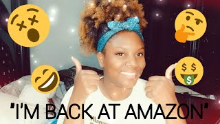 Working for Amazon fulfillment Center | How I got rehired 3 weeks after I quit🤔
