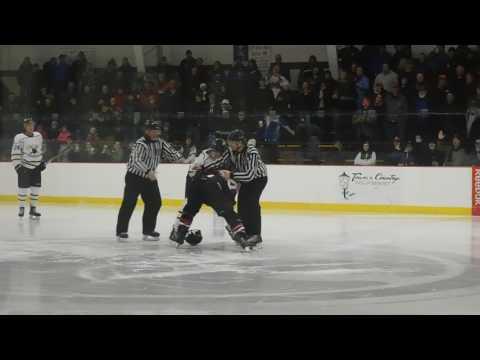 Chris Cloutier vs Tyler Howe