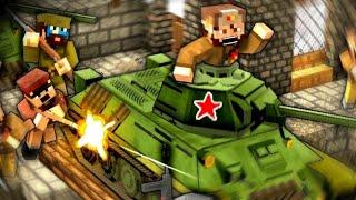 BATTLE OF VOLGA RIVER! - Minecraft WW2 - S5E11 (Heroes & Generals)