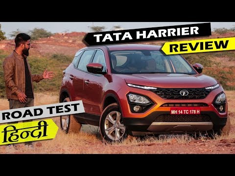 Tata Harrier Review - Road Test | Better Than Compass? | ICN Studio