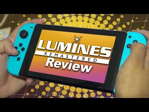 Lumines Remastered Review video thumbnail