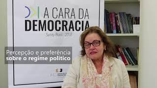 Pesquisa A Cara da Democracia - relatório discute satisfação com a democracia