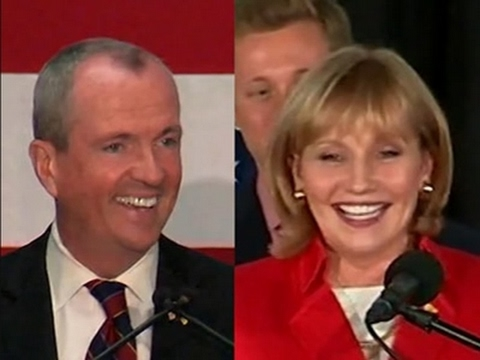 Guadagno Vs. Murphy in New Jersey Governor Race
