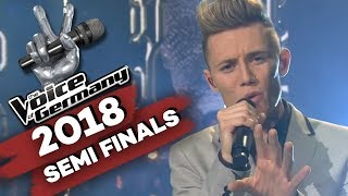 Miley Cyrus - Wrecking Ball (Matthias Nebel)   The Voice of Germany   Halbfinale