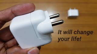 Apple 12W Adapter for iPhones – This fast charger will change your life! (Hindi)
