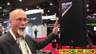 Front of House: Peavey RBN Ribbon Speaker at InfoComm