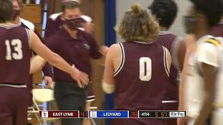 Boys' basketball highlights: East Lyme 56, Ledyard 34