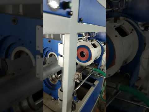 PVC Pipe Socketing Machine