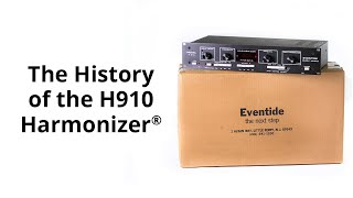 History of the Eventide H910 Harmonizer