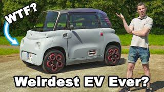 Citroen Ami review - the weirdest EV in the world!