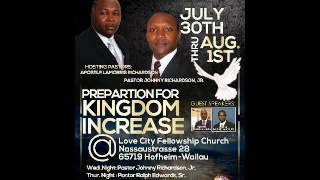 preview picture of video 'Preperation for Kingdom Increase  Pastor Ralph Edwards'
