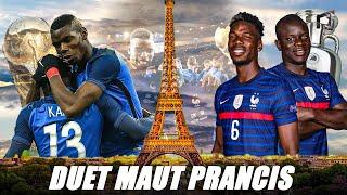 Duet Fenomenal Pogba & Kante, Bikin Prancis Tak Pernah Kalah!