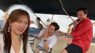 Trấn Thành Hari Hát Trên Du Thuyền Chúc Mừng Sinh Nhật Ali Hoàng Dương - Ngày 14.09.2020