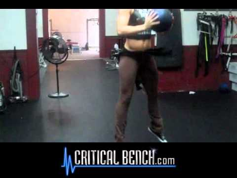 Medicine Ball Squat Jumps