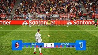 AC Milan vs Juventus FC | Penalty Shootout | PES 2019 Gameplay PC