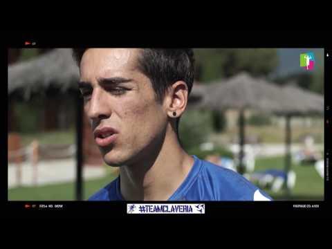 Iván Muñoz en el Proyecto Olimpiadas 2024 TeamClaveria 2017