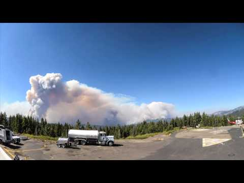 Time Lapse Of Yosemite Fire Shows Nature Destroying Nature
