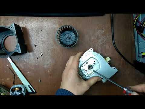 Ремонт вентилятора вытяжки Saeco Cristallo 400