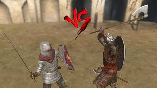 Hired Blade 40 VS 20 Nord Huscarl