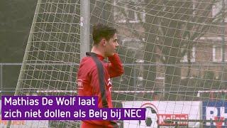Mathias De Wolf laat zich niet dollen als Belg bij NEC