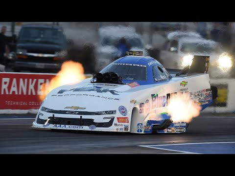 John Force notches his fourth No. 1 qualifier